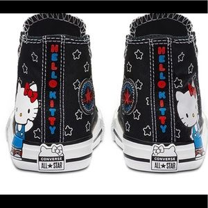NWB CONVERSE X HELLO KITTY WOMENS SIZES 7 & 8
